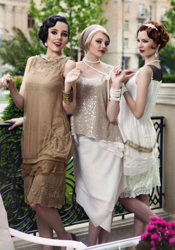 стильные платья в стиле Великий Гэтсби