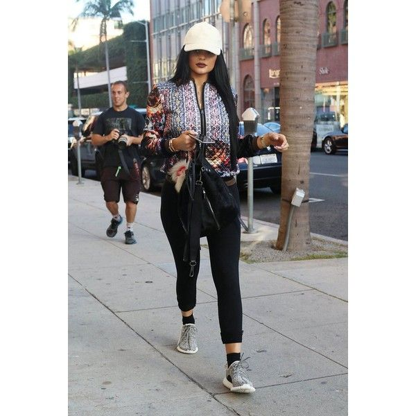 How Kanye and Kim, and Kendall and Kylie Jenner Are Rocking the... ❤ liked on Polyvore