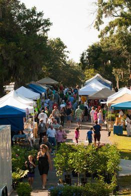 Amelia Island, Florida Farmers Market, Every Saturday, 9am - 1pm