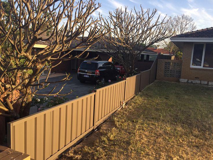 COLORBOND® Steel Fencing Contractors Perth WA Portable