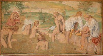 luini, 1520-23, Affreschi da villa La Pelucca