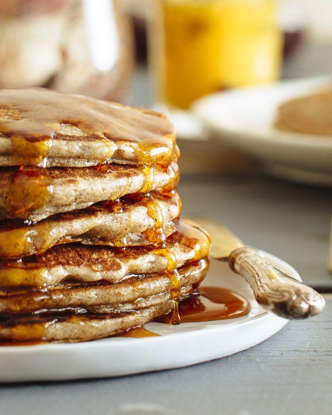 Buttermilk Buckwheat Pancakes | Recipe from Brown Eggs and Jam Jars cookbook