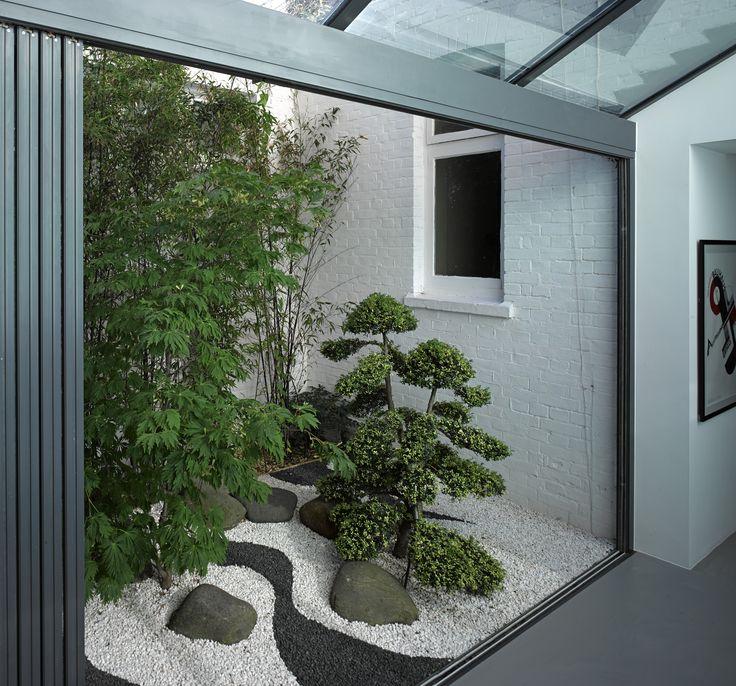 Beautiful Small House Design: Jardim, Jardim Zen, Decoração Jardim