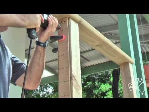 DIY cable rail