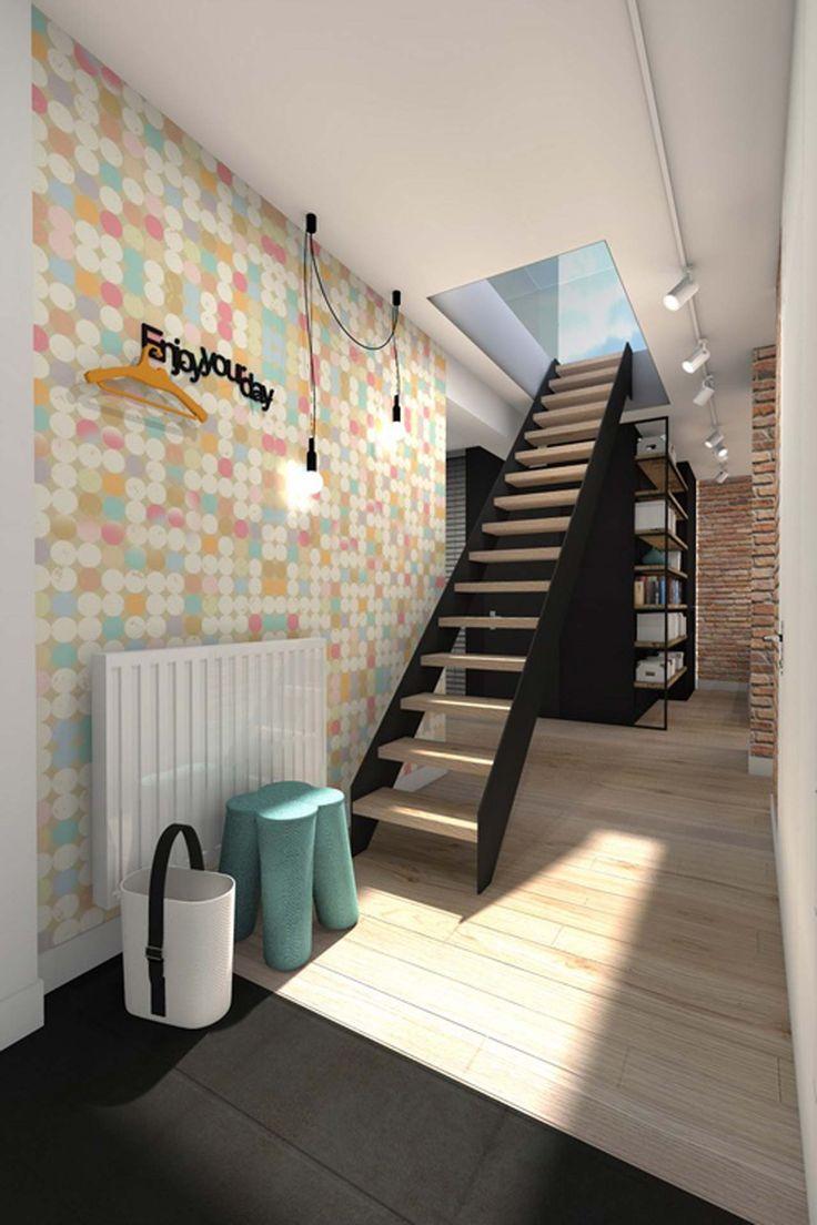 Best Home Interior Design Wall ~ http://www.lookmyhomes.com/best-home-interior-design-ideas-15-photos-by-loft-in-katowice/