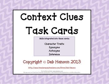 context clue test paper Fun language arts practice improve your skills with free problems in 'use context to identify the meaning of a word' and thousands of other practice lessons.