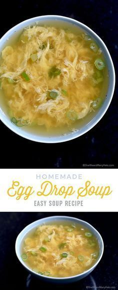 Egg Drop Soup Recipe is quick and easy to make in about 10 minutes. So…