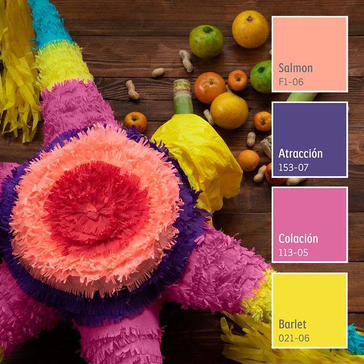 Celebra las fiesta decembrinas rodeado de color con Comex. ¡Conoce nuestros colores! Color Interior, Colorful Interiors, Salmon, Sweet Home, Future, Home, Color Coordination, Bedroom Color Palettes, Kitchens