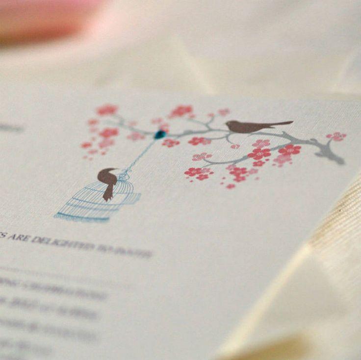 mini book wedding invitations uk%0A Love Bird Wedding Invitations Uk