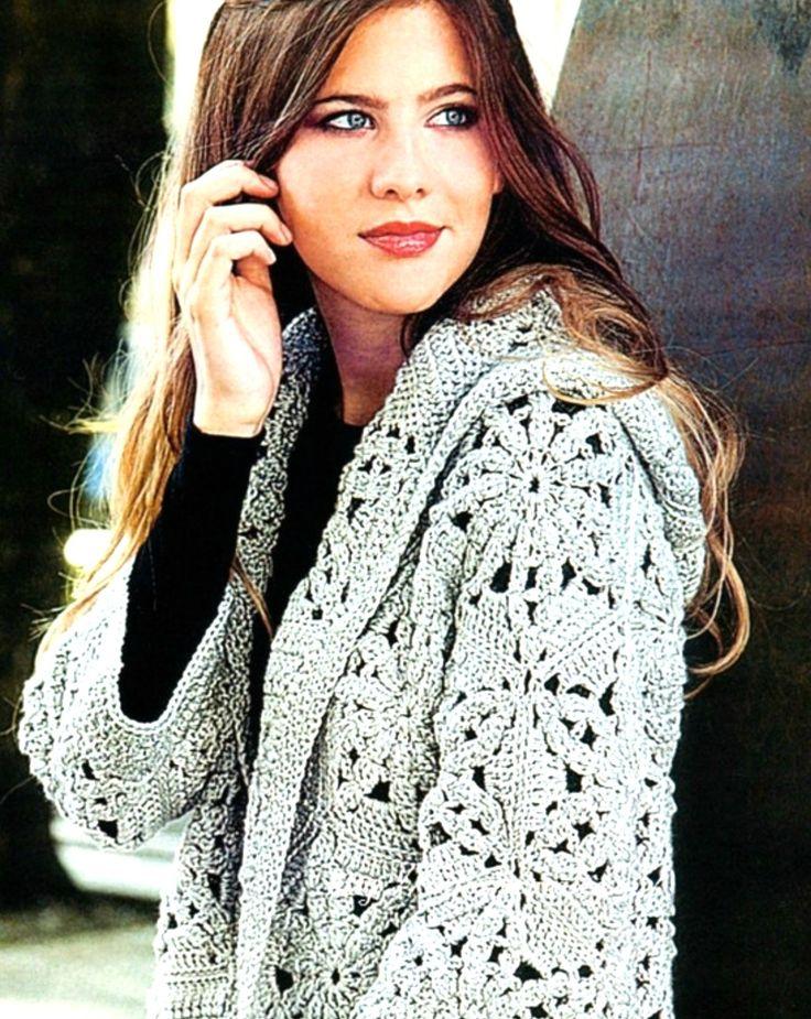 8 mejores imágenes de crochet en Pinterest | Bolsillos, Bolsos de ...