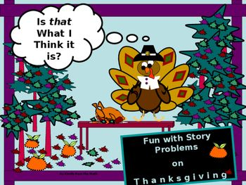This activity offers six story problems:  one coin problem, one mixture problem, one work problem, and three combined distance problems for teacher/student holiday pleasure.  Illustrations that could also be used as bulletin-board ideas are provided for each and every story problem and a complete answer explanation is provided for each problem, as well.