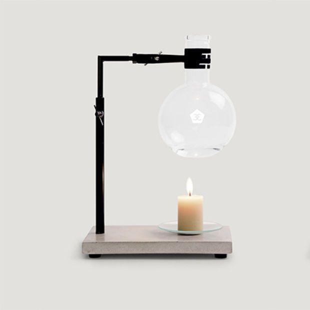 essential oil burner / concrete base
