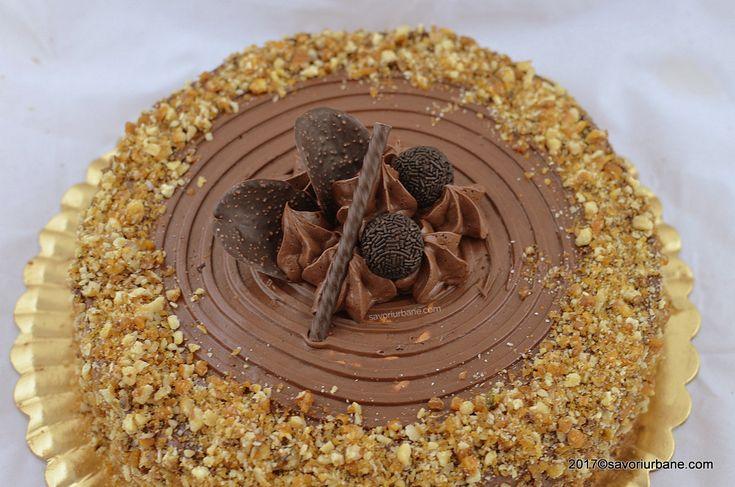 tort krantz cu nuca zahar ars si crema ciocolata grilias grilaj (2)