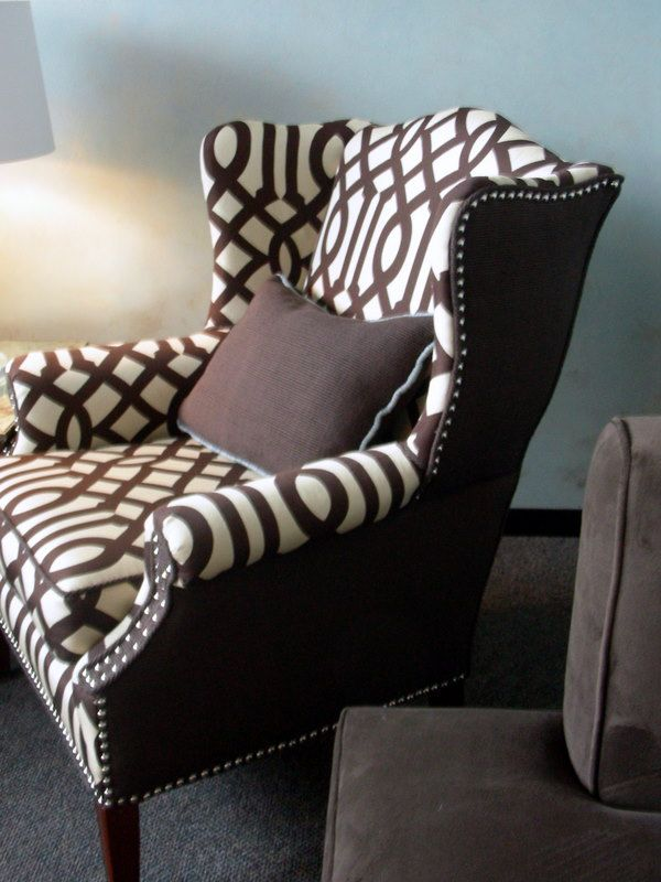 what a gorgeous chair redo