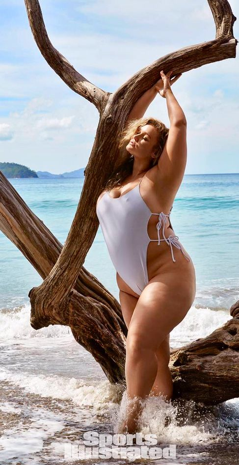 16eabe038e Pin by jay on Plus Size Swimsuits in 2019 | Hunter mcgrady, Fashion, Sport  fashion
