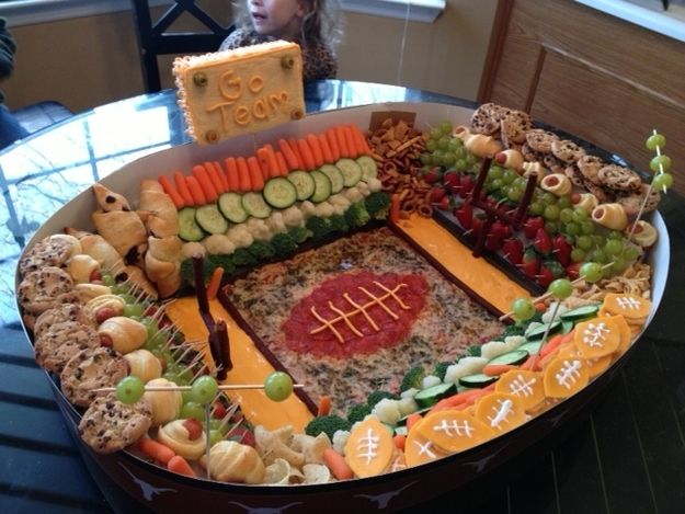 Go Team! | 21 Incredible Football Stadiums Made Of Snacks