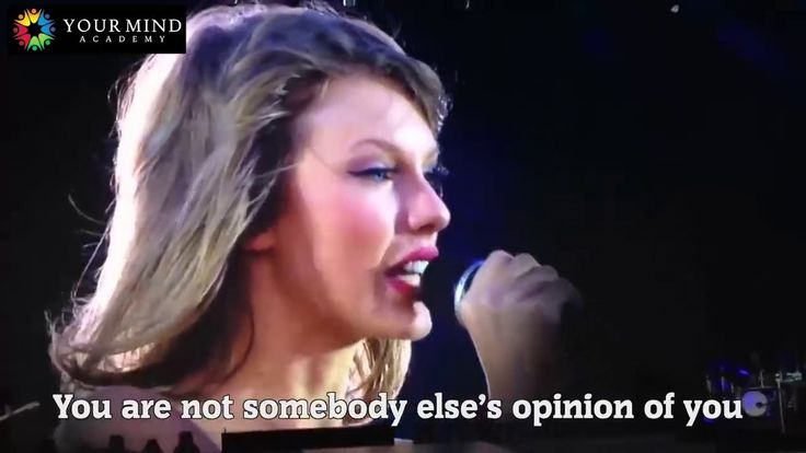 Your Voice Is All That Matters - What is Your Voice Saying? - Taylor Swift