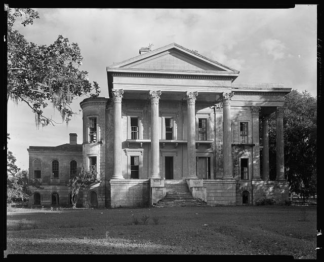 Belle Grove, front, White Castle vic., Iberville Parish, Louisiana, 1938