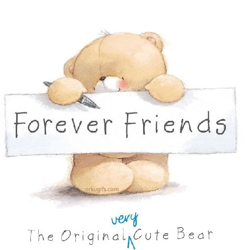 Cute Cartoon Bears | Friendship Images, Comments, Graphics, and scraps for Facebook, Orkut ...