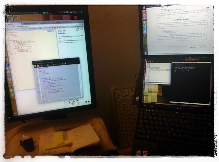 configuración de escritorio.