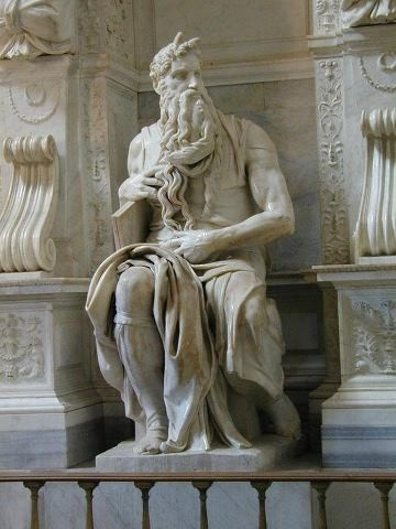 Moses, by Michael Angelo in the Church of St. Peter in Chains in Rome