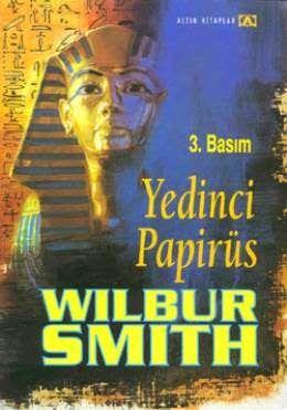 """Wilbur Smith """" Yedinci Papirüs """" ePub ebook PDF ekitap indir - e-Babil Kütüphanesi"""