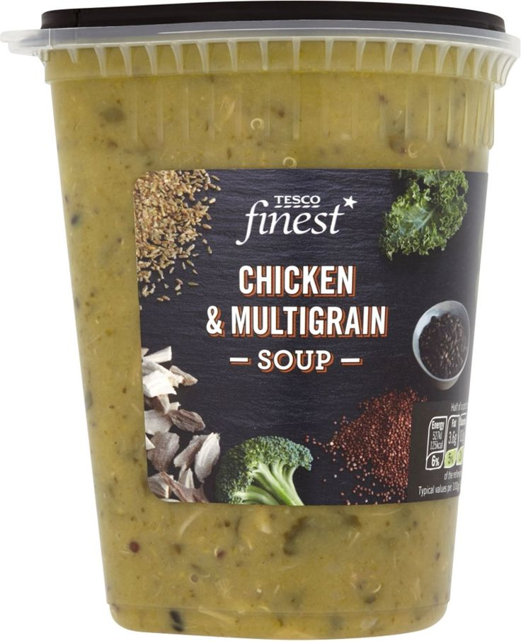 Tesco Finest Chicken & Multigrain Soup (600g) | Compare Prices, Buy Online | mySupermarket