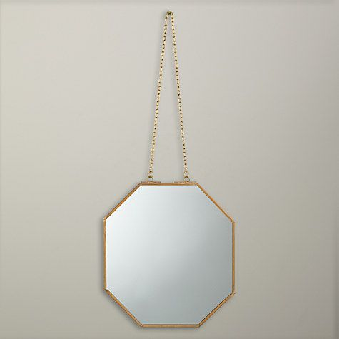 Would this work in WC ? Buy John Lewis Fusion Hexagonal Hanging Mirror Online at johnlewis.com
