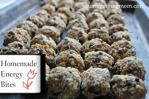Homemade Energy Bites: Delicious, packed with nutrition and easily adaptable!