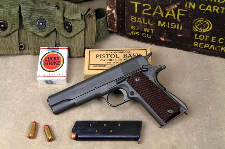 WOW! Amazing War Stories that Involved the M1911- Myths & Legends - https://www.warhistoryonline.com/world-war-ii/wow-amazing-war-stories-that-involved-the-m1911-myths-legends.html