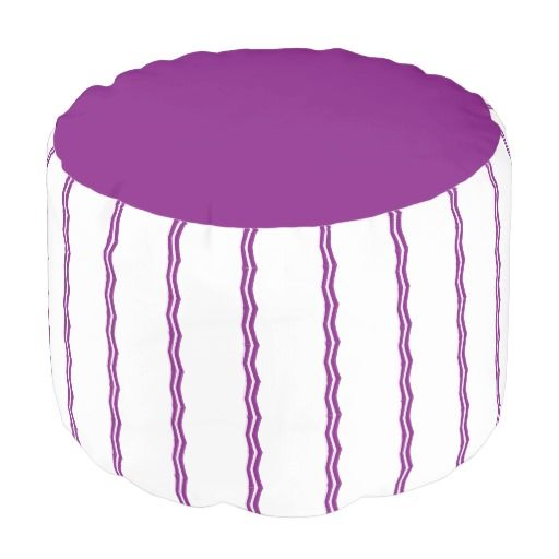 Purple Design PicPillows Pouf
