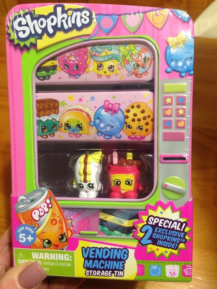 SHOPKINS VENDING MACHINE EXCLUSIVE NUTTY BUTTER & CREAMY BUN BUN NIP #MOOSETOYS