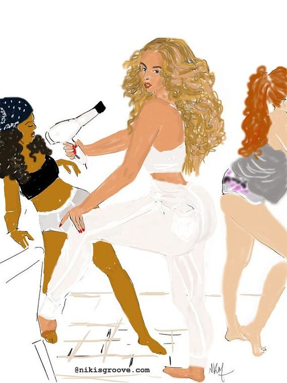 Beyonce 711 bathroom by Nikisgroove on Etsy