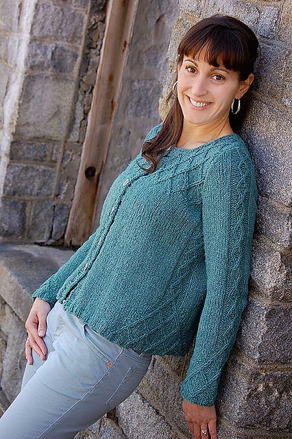 Ravelry: Twin Peaks Cardi 2056 pattern by Hélène Rush