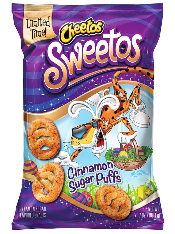 Say Hello to Sweetos, the New Sweet Version of Cheetos http://greatideas.people.com/2015/01/21/cheetos-sweetos-release-frito-lay-cinnamon-sugar-puffs/