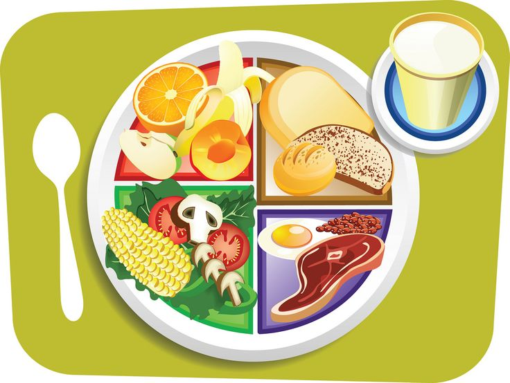 134 best cartoon food art images on pinterest food illustrations rh pinterest co uk healthy plate of food clipart free clipart plate of food