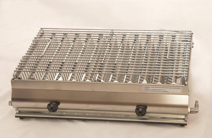Mod. F2 Maxi Barbecue in acciaio inox  GA Srl