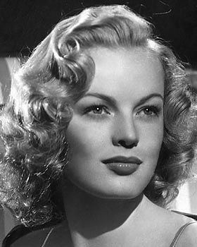 """June Haver, born June Stovenour on 6/10/26 in Rock Island, IL. Died on 7/4/05 of respiratory failure. An Actress from 1943 to 1953. She was once groomed by 20th Century Fox to be """"the next Betty Grable"""", appearing in a string of musicals, but never achieved Grable's popularity. She was married twice with two adopted children!"""