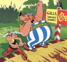 Albert Uderzo (1927) Dibujante y guionista de historietas francés. Su creación más famosa es Astérix junto con el guionista René Goscinny.