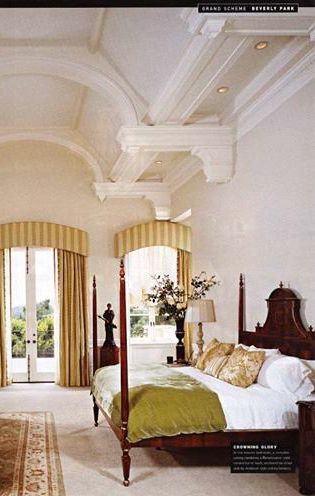 bed & curtains
