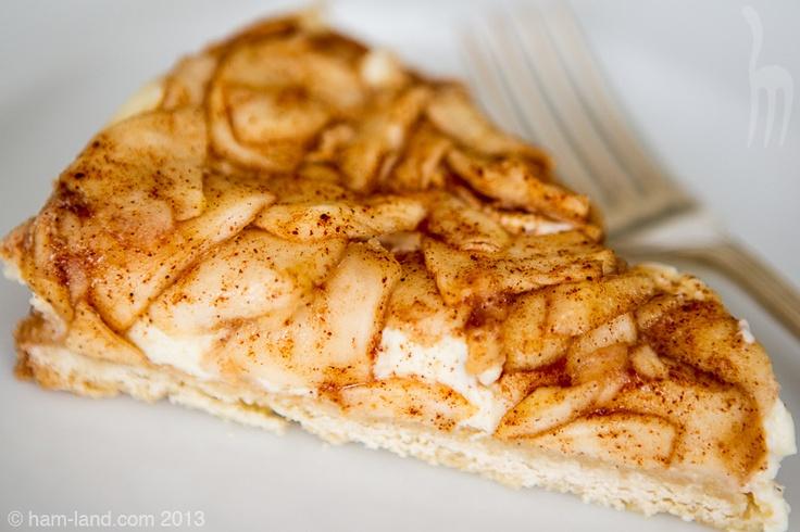 Slice of Apple Bavarian Torte