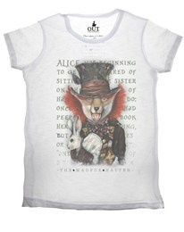 T-shirt The Madfox Hatter Out