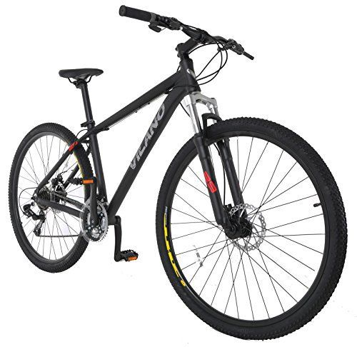 Vilano Blackjack 2.0 29er Mountain Bike MTB with 29-Inch Wheels, Black, 17-Inch - http://www.bicyclestoredirect.com/vilano-blackjack-2-0-29er-mountain-bike-mtb-with-29-inch-wheels-black-17-inch/