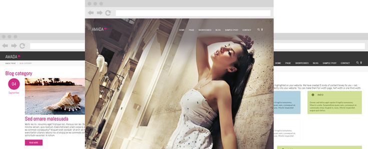 Themes4all.com offer beautiful Amada theme. Take a look!