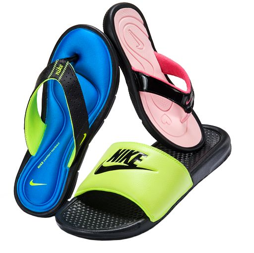 Just in! @Nike sandals only $19.99 and up. #summertime