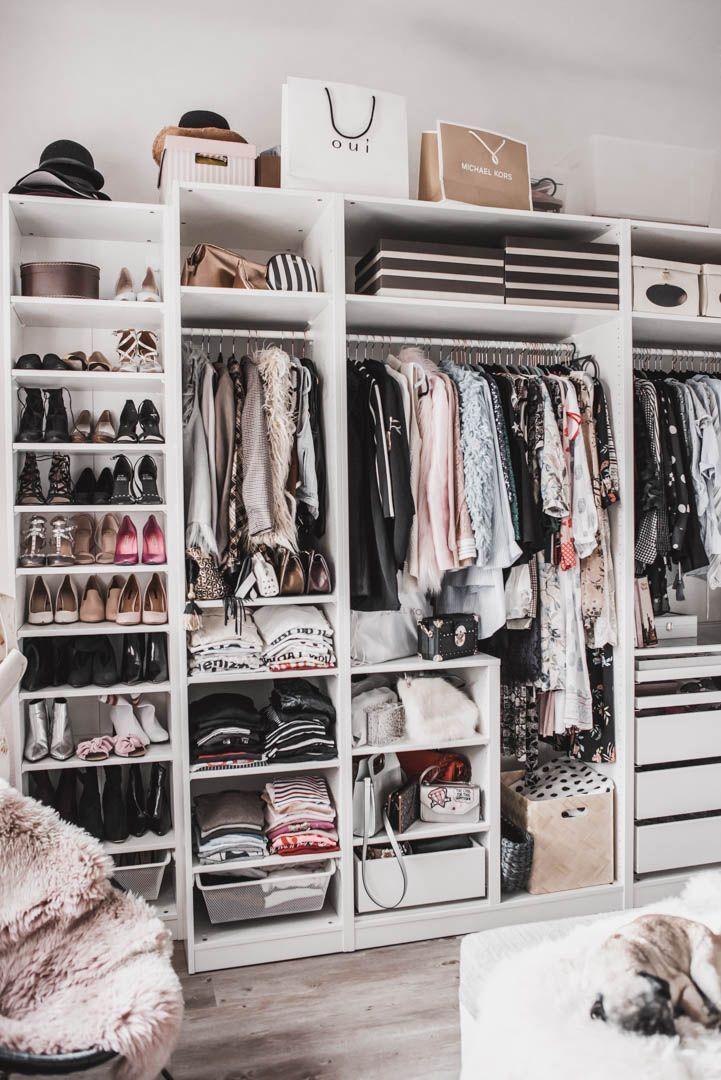 Einen begehbaren Kleiderschrank planen : so habe ich mein Ankleidezimmer eingerichtet