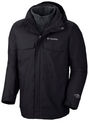 175 We've added our patented thermal reflective technology to this classic winter Interchange jacket, delivering an even warmer winter weather fighter with layering options galore. The technical outer shell is waterproof breathable, with adjustability at the hood, hem, and cuffs, and the new zip-in fleece liner features thermal reflectivity, which reflects your body heat for warmth while maintaining a high level of breathability. Each piece works as an outer layer on its own during moderate…
