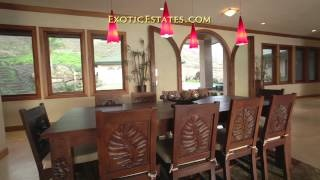 A fabulous 5000 sq foot luxury home on Maui!  See yourself here?