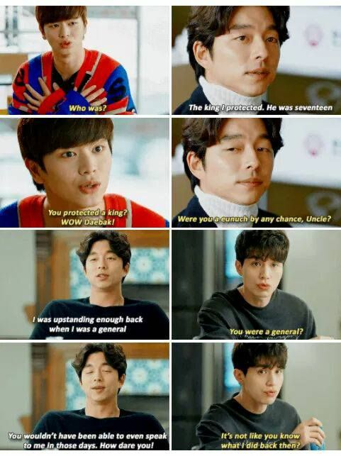 [Goblin] Korean Drama   But then again, he was your king so hahahha