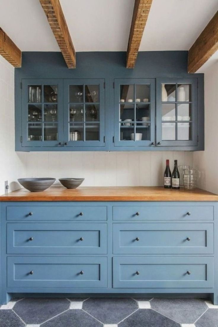 Creative kitchen cabinet color ideas check the pic for many